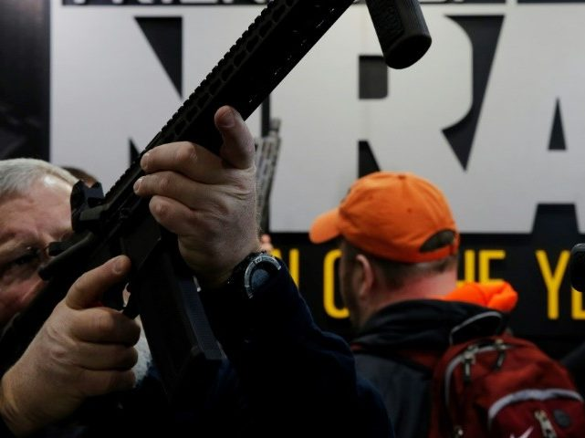 NRA Jumps in Against Democrat Doug Jones in Alabama Senate Race - Breitbart