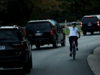 Juli Briskman, the cyclist who raised her middle finger as a motorcade with US President Donald Trump passed -- and was fired for it -- has been showered with donations on GoFundMe