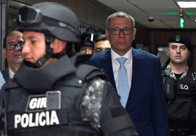 Ecuador's Vice President Jorge Glas was indicted with 12 others for unlawful association in the giant corruption case involving Brazilian constructor Odebrecht