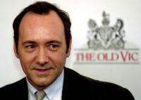 Kevin Spacey, pictured in London in 2003, was artistic director at The Old Vic for over a decade