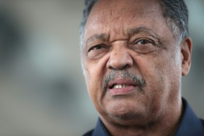 US civil rights leader Jesse Jackson has Parkinson's disease