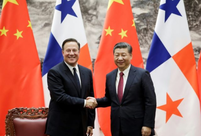 'China-Panama relations have turned over a new leaf,' Chinese leader Xi Jinping said during talks with Panama's President Juan Carlos Varela