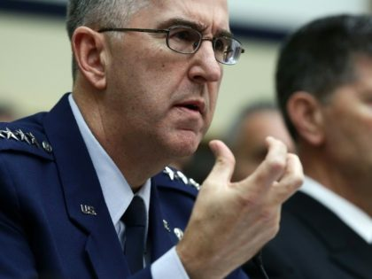 "US Strategic Command leader General John Hyten says he would resist any ""illegal"" presidential order for a strike and work to find an alternative"