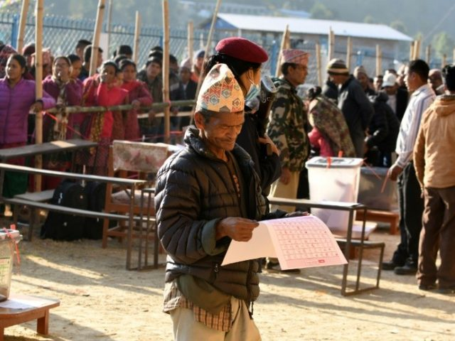 Millions of Nepalis are expected to cast their ballots on Sunday, the first phase of a two-stage election