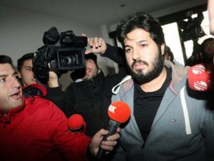 Reza Zarrab (C), shown in this December 2013 file photo, was to go on trial in a Manhattan federal court but is now the prosecution's star witness