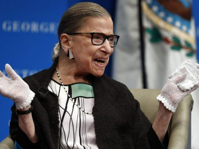 Supreme Court Justice Ginsburg: 'Macho Atmosphere' and 'Sexism' Caused Hillary Clinton to Lose 2016 Election