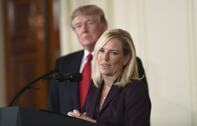 Kirstjen Nielsen Denies She Threatened To Resign After Trump Scolding