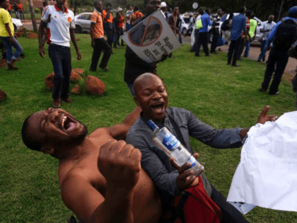 Photos: Zimbabwe Celebrates Mugabe's Resignation