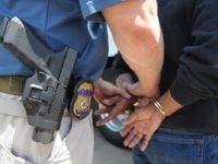 ICE ERO Officer makes arrest of illegal immigrant in El Paso.