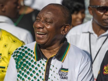 ANC Cyril Ramaphosa (Mujahid Safodien / AFP / Getty)