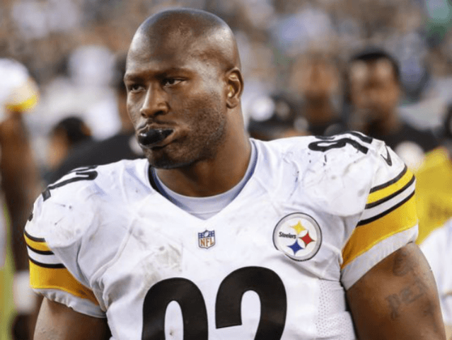 Linebacker James Harrison visits Patriots