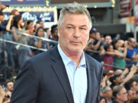 Actor Alec Baldwin attends the 'Mission Impossible - Rogue Nation' New York premiere at Duffy Square in Times Square on July 27, 2015 in New York City. (Photo by Jamie McCarthy/Getty Images)