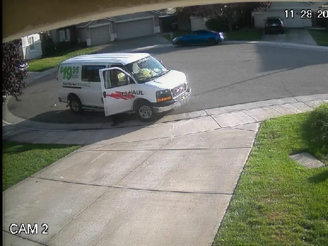 Caught On Camera: Amazon Delivery Driver Squats, Poops In Driveway