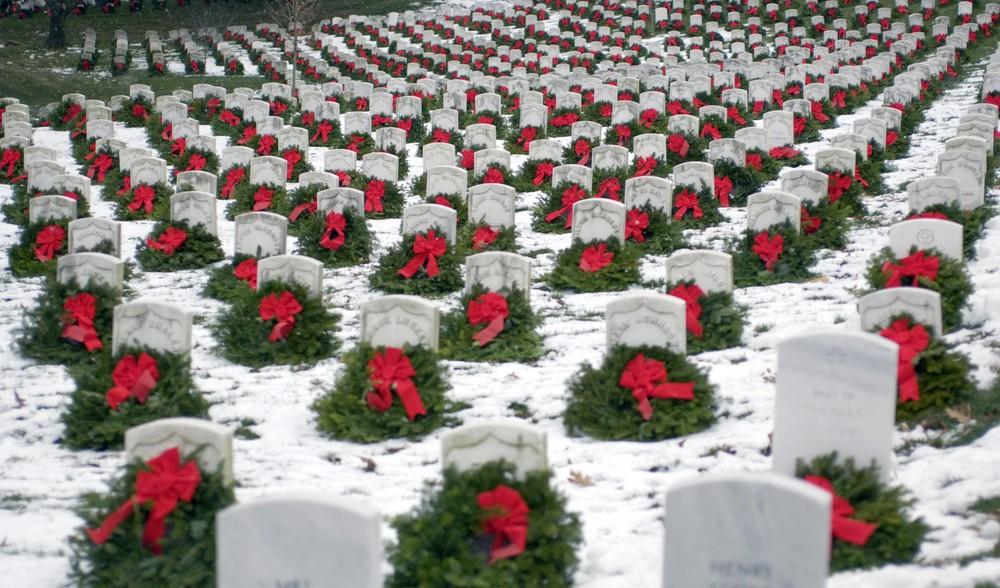 National Wreaths Across America Day is saturday