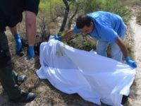Body of Deceased Migrant in Brooks County Texas. Breitbart Texas Photo/Bob Price