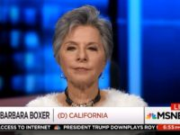 Barbara Boxer: McConnell Is a 'Complicit Little Coward'