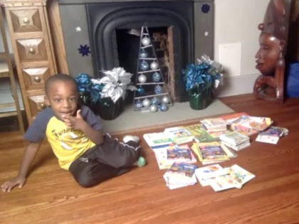 Caleb Green, a 4-year-old Chicago boy, read 100 books in a single day—and his parents recorded it on Facebook Live.