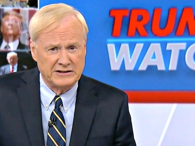 Chris Matthews on Trump Watch