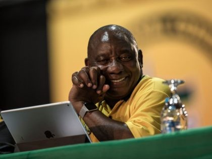 Cyril Ramaphosa (Gulshan Khan / AFP / Getty)