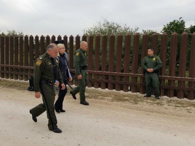 Department of Homeland Security visits Texas border