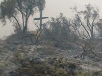 Miracle: Iconic Ventura Cross Still Standing After California Fire
