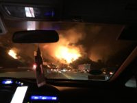 405 Fire (@CraigStrazz / Twitter)