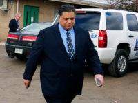 Democratic Pennsylvania state Rep. Marc Gergely leaves his arraignment before a district judge in Gibsonia, Pa., Wednesday, March 2, 2016. The seven-term lawmaker is one of more than a dozen people charged in a case involving an illegal video gambling operation that had some 335 machines at 70 restaurants, bars, bowling alleys and other locations outside Pittsburgh. (AP Photo/Gene J. Puskar)