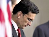 Eric Cantor Hangs Head