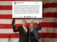 Donald Trump Closer: Do the Right Thing, Vote for Roy Moore