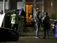 Police officers investigate the crime site in the Botsaartstraat in Maastricht, the Netherlands, after two stabbing took place within a few hundred metres of each other on December 14, 2017. / AFP PHOTO / ANP / Marcel van Hoorn / Netherlands OUT (Photo credit should read MARCEL VAN HOORN/AFP/Getty Images)