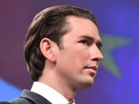 Austria's new Chancellor Sebastian Kurz gives a joint press conference with European Commission President after their meeting on December 19, 2017, at the European Commission in Brussels. ?Austria's far-right was sworn in on December 18 as part of the new government, rounding off a triumphant year for Europe's nationalists. The …