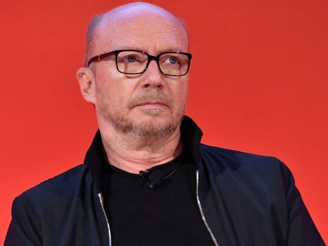 Director Paul Haggis speaks onstage during the Paul Haggis & Friends panel at The Town Hall during 2016 Advertising Week New York on September 26, 2016 in New York City. (Photo by Slaven Vlasic/Getty Images for Advertising Week New York)