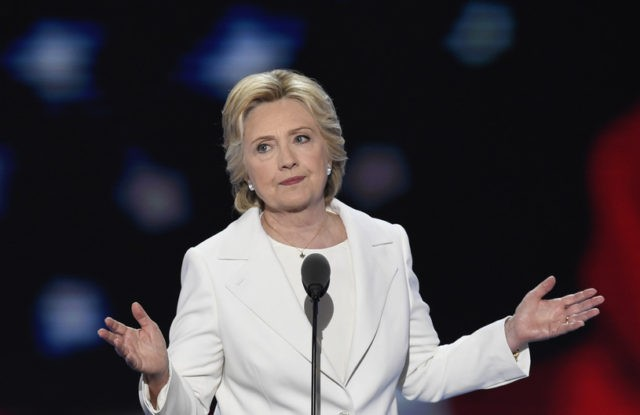 Hillary Clinton Shrug