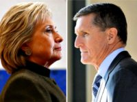Hillary and Mike Flynn