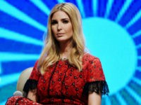 Advisor to the US President Ivanka Trump looks on during a panel discussion at the Global Entrepreneurship Summit at the Hyderabad convention centre (HICC) in Hyderabad on November 29, 2017. Ivanka urged India on November 28 to close its yawning gender gap in the job market, telling a business summit …