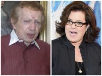 Jackie Mason Rosie O'Donnell Breitbart News/Getty