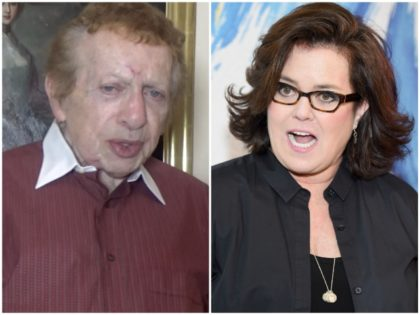 Jackie Mason Rosie O'Donnell Breitbart News/Getty
