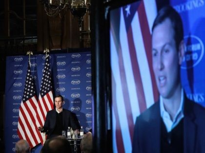 Jared Kushner at Saban Forum (Drew Angerer / Getty)