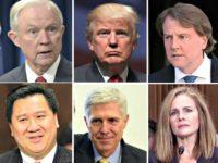 Jeff Sessions, Trump, McGhann, Ho, Gorsuch, amyconeybarrett