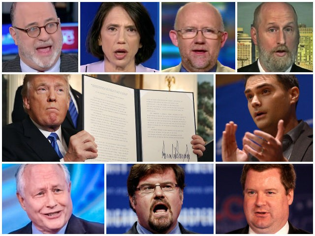 John-Podhoretz-Jen-Rubin-Rick-Wilson-David-French-Ben-Shapiro-Bill-Kristol-Jonah-Goldberg-Erick-Erickson-NeverTrump-AP-Getty-Flickr-Screenshot