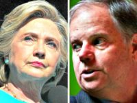 Jones Looks Over Shoulder at Hillary