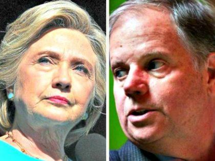 Jones Looks Over Shoulder at Hillary