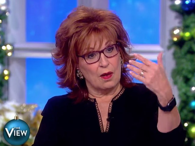 Our long national nightmare is over: Joy Behar finally apologizes