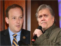 Lee Zeldin and Steve Bannon