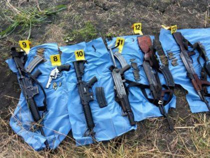 Los Zetas Weapons