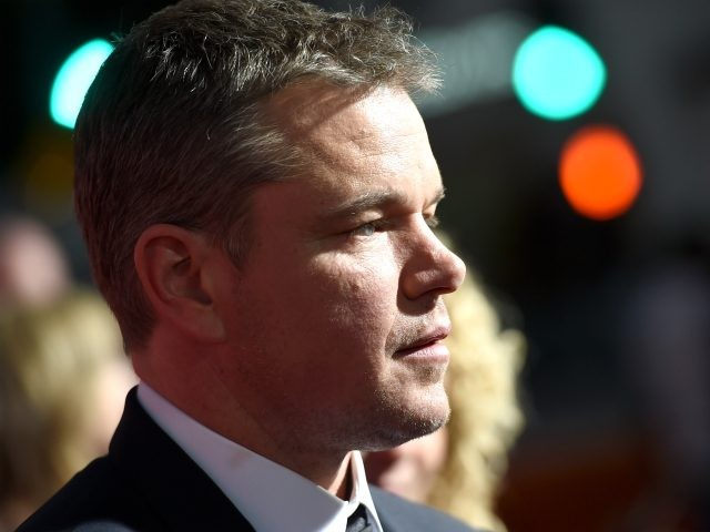 Actor Matt Damon arrives at the premiere of Paramount Pictures' 'Suburbicon' at the Village Theatre on October 22, 2017 in Los Angeles, California. (Photo by Kevin Winter/Getty Images)