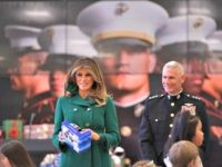 Melania Trump Remembers Hurricane Victims at Toys for Tots Event, Encourages America to Give Back During Christmas