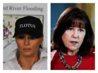 Melania Trump and Karen Pence collage