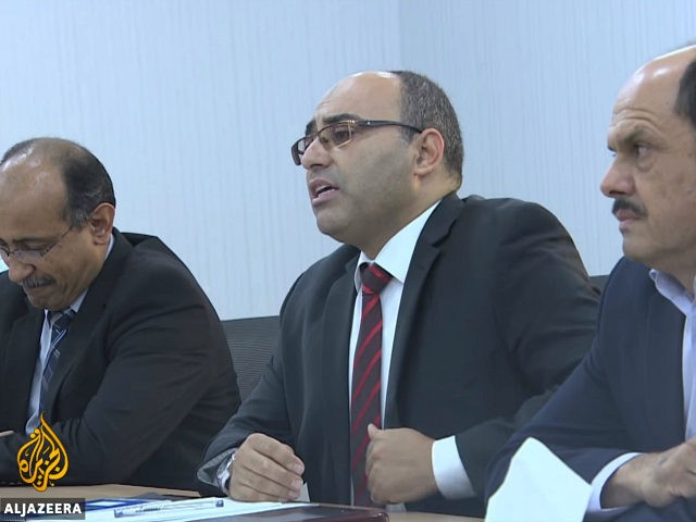 Mohammed Eshtewi, mayor of the Libyan city of Misrata