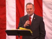 Roy Moore in Midland City, AL, 12/11/17